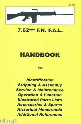 FN FAL 7.62mm Assembly, Disassembly Owner's Manual