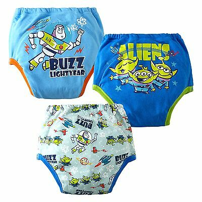 Kids Boys/Girls Cotton Pack-3 Leak Layers Protection Potty Training Pants1-4 yrs