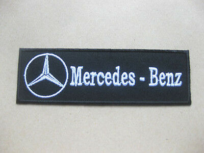 MERCEDES BENZ AUTO MOTOR PATCH embroidered Badge 4x12 cm