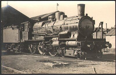 Locomotive Ten Wheel n° 230 A 488. Carte photo. Compagnie de l'Est