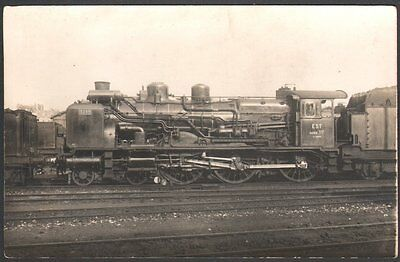 Locomotive Ten Wheel n° 3249. Carte photo. Compagnie de l'Est