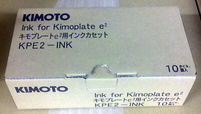 Kimoto Kimosetter Ribbon Cassettes - New - 44026A - 10 To A Pack