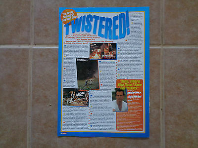 Twister Bill Paxton_MAGAZINE CLIPPINGS CUTTINGS_ships from AUSTRALIA_P7