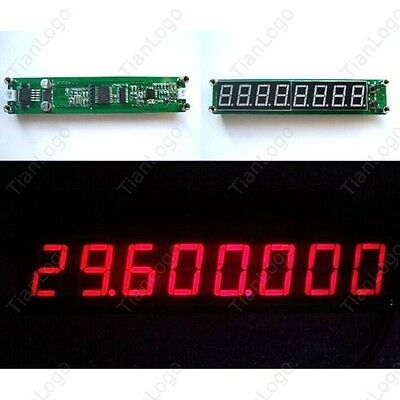 0.1-60MHz 20MHz ~2.4GHz led RF Singal Frequency Counter Cymometer Tester Meter R
