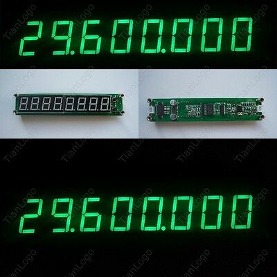0.1-60MHz 20MHz ~2.4GHz led RF Singal Frequency Counter Cymometer Tester Meter G