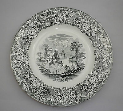 F Pimavesi & Sons 19th Century Plate