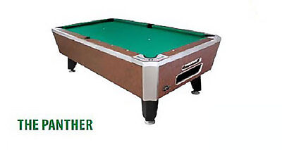 "Valley 93"" Panther Pool Table"