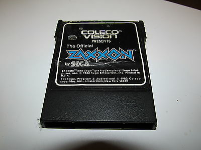 COLECOVISION ZAXXON IN GOOD SHAPE SEE STORE FOR HUNDREDS MORE