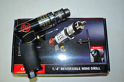Chicago Pneumatic 1/4 Inch Drive Mini Air Drill Reversible Drill Tool CPT7300R