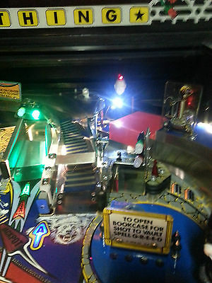 Addams Family Pinball Machine New Standing Uncle Fester Super Bright LED Mod