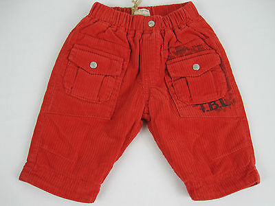 Timberland Baby Boys Corduroy Pants sizes 1 month 6 months 9 months Red