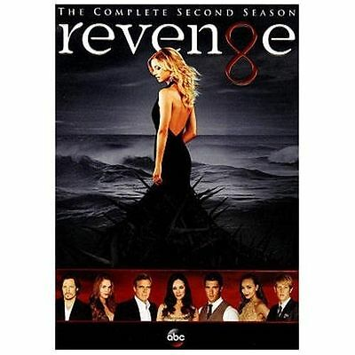 Revenge: The Complete Second Season (DVD, 2013, 5-Disc Set) Brand New/Sealed