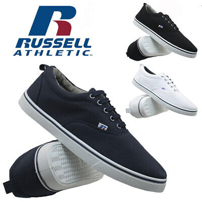 Mens Russell Athletic Casual Espadrilles Canvas Plimsolls Pumps Trainers Shoes