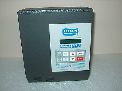 leeson speedmaster sm series manual