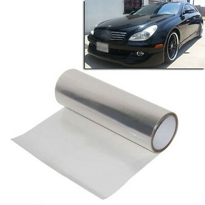 "12""x48"" Clear Tint Bra Headlight Hood Protection Guard Film Sticker Sheet"