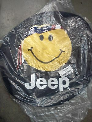 NEW JEEP LIBERTY & WRANGLER SPARE TIRE WHEEL COVER MOPAR OEM
