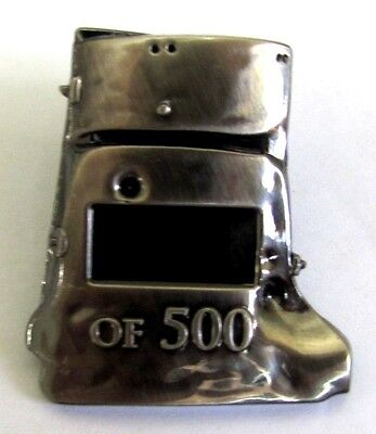 Ned Kelly Aussie Bushranger Limited Edition Of Only 500 Helmet Pin Badge 301-350