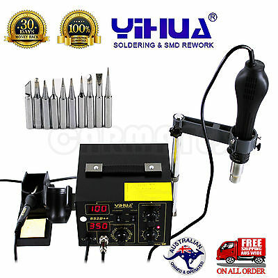FOR YIHUA 852D++ HOT AIR GUN HOLDER SOLDERING REWORK SMD STATION ESD safe