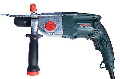 ARGES 1050w 2 Ratio PRO Impact Mains Drill 13mm - High quality tool