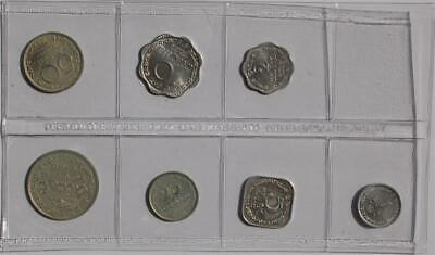 00 Sri Lanka 1, 2, 5, 10, 25, 50, Cents, 1 Rupee