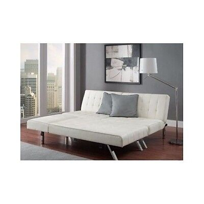 New Queen Size Sofa Bed Sleeper Sectional Couch Chair Leather