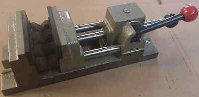 "3"" Quick Grip Drill Press Vise with Ground Sides"