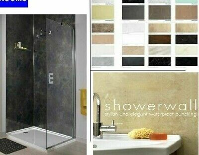 Showerwall Panelling, Waterproof Boards, Various Colours & Panel Sizes