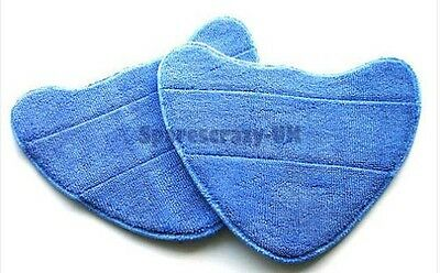 2 x Microfibre Steam Mop Washable Home Pads to fit Vax Type 1 S2S S2ST BIONAIRE