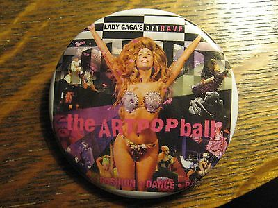Lady Gaga The ArtPop Ball Concert ArtRave Advertisement Pocket Lipstick Mirror
