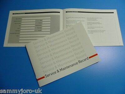 HONDA Car Service Book New Unstamped History Maintenance Record Free Postage**