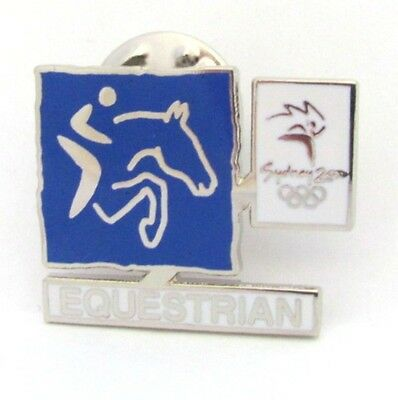 Equestrian Event Pictogram Logo Sydney Olympic Games 2000 Pin Badge Collect #132