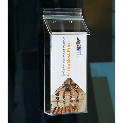 DL Outdoor Waterproof Brochure Holders / Pamphlet / Leaflet / Literature Holders
