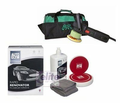 Dodo Juice Buff Daddy Dual Action Polisher Autoglym Rapid Renovator Polish Kit