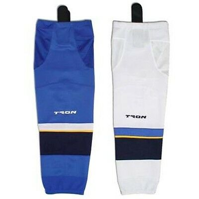 "St. Louis Blues Hockey Socks DRY FIT Edge Inspired Colors 24"" or 30"" SK300"