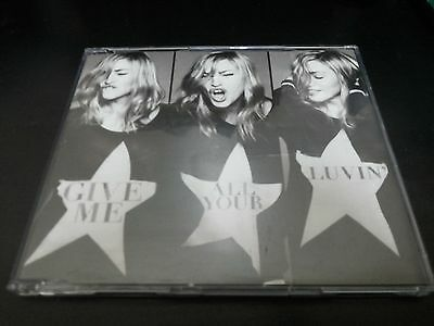 MADONNA Give Me All Your Luvin' South East Asia Malaysia Edition Single CD Limit