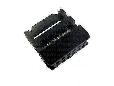 20Pcs 12 Pin 2x6 2.54 Pitch IDC FC-12 Female Wire Header Connector fr Flat Cable