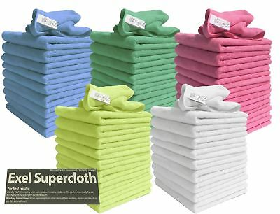 50 Exel MicroFibre Large Cloth for Car Polishing HOME CAR AND GARDEN USE