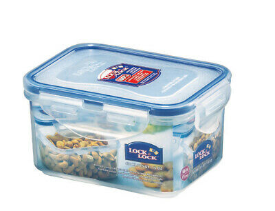 Lock & Lock Clip Lid Rectangular Food Storage Container Lunch Box