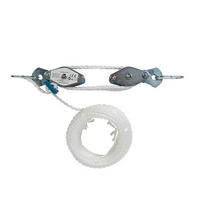 Heavy Duty Cable Pulley Set 180Kg Lifting Cargo Workshop