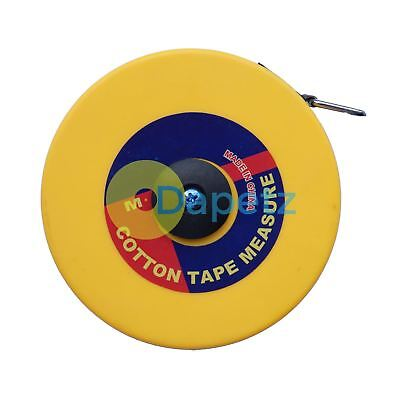 Quality Surveyors 30m Tape Measure Fiberglass 30 Meter Metric Imperial