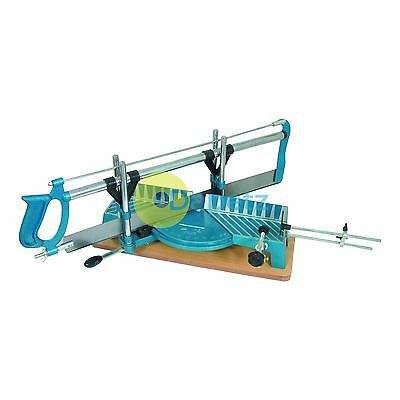 Sw05 Silverline Precision Mitre Saw 550mm 14Tpi Saw Woodwork Blade Woodworking