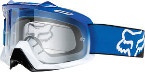 Fox AIRSPC Goggles Race Blue White Fade Clear Lens Adult MX Dirtbike FO06333907