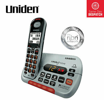 UNIDEN SSE35 Visual and Hearing Impaired Cordless Digital Phone System