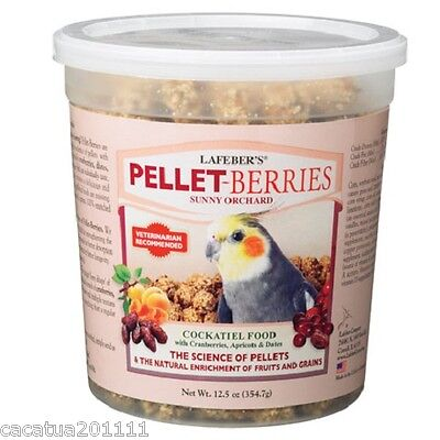 Lafeber: Pellet Berries Sunny Orchard For Cockatiels 354G - Complete Food/treat