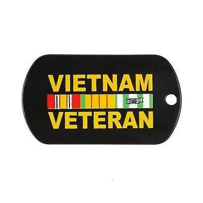 8984 Rothco Black Vietnam Veteran Dog Tag