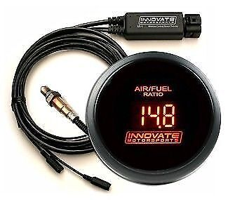 Innovate DB-Red Kit Red LEDs LC-2 & O2 Sensor Wideband Air Fuel Ratio Gauge
