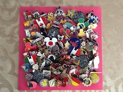 Disney Trading Pins-Lot of 100-No Duplicates-Free Shipping-USA Seller