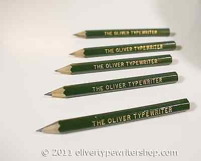 5 Pencils for Oliver Typewriters  | Typewriter Supplies | Free Shipping