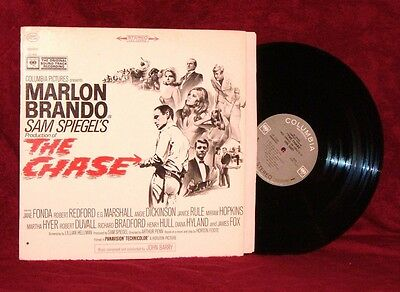 Ost Lp The Chase John Barry 1966 Columbia Stereo Nm Near Mint