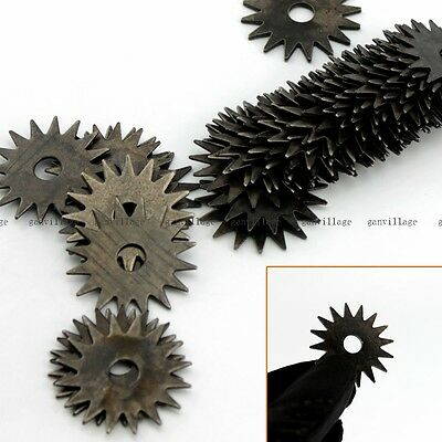 45pcs Star-toothed Cutters Blades For Bench Grinder Grinding Wheel Dresser NEW